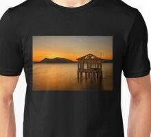 Sunset of the forgotten pavillion Unisex T-Shirt
