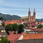 Rooftops of Forbach by Yair Karelic