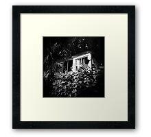 Abandoned RV Paradise, Chiba Japan Framed Print