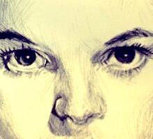 Judy Garland Portrait Sticker