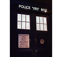 Doctor Who TARDIS Doors - Police Box Photographic Print