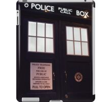 Doctor Who TARDIS Doors - Police Box iPad Case/Skin