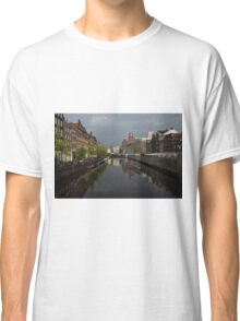 Amsterdam - Singel Canal With the Floating Flower Market Classic T-Shirt