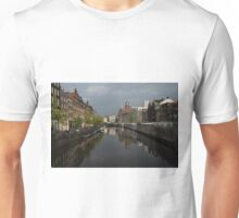 Amsterdam - Singel Canal With the Floating Flower Market Unisex T-Shirt