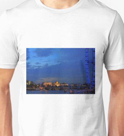 RIVER THAMES SUNSET Unisex T-Shirt