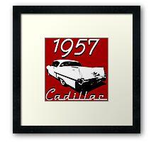 1957 Cadillac Framed Print