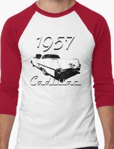 1957 Cadillac Men's Baseball ¾ T-Shirt