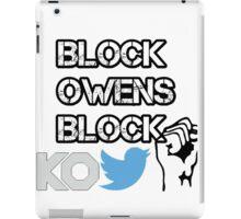 Block Owens Block iPad Case/Skin