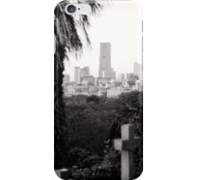 View from Foreign Cemetery, Yokohama iPhone Case/Skin