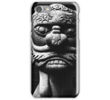 Temple Guard, Shinagawa Japan iPhone Case/Skin