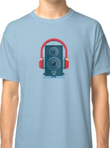 Character Building - Music Fan Classic T-Shirt