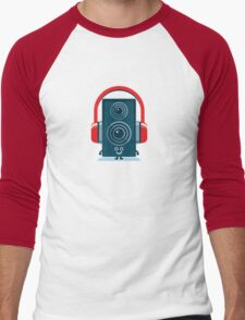 Character Building - Music Fan Men's Baseball ¾ T-Shirt