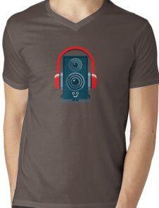 Character Building - Music Fan Mens V-Neck T-Shirt