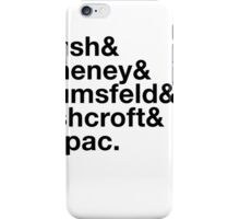 Ironic George Bush Cabinet iPhone Case/Skin