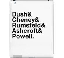 George Bush Cabinet Ampersand Design iPad Case/Skin