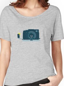 Character Building - Selfie camera Women's Relaxed Fit T-Shirt