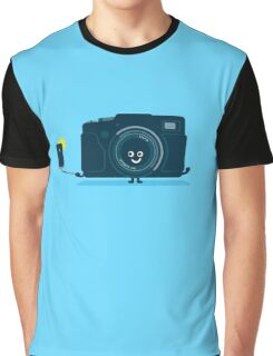 Character Building - Selfie camera Graphic T-Shirt