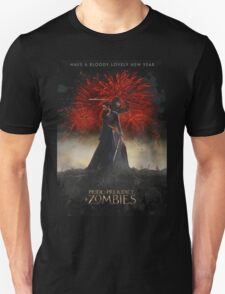 Pride and Prejudice and Zombies Movie - Have A Bloody Lovely New Year Unisex T-Shirt