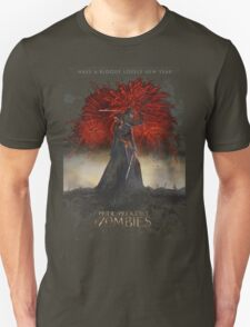 Pride and Prejudice and Zombies Movie - Have A Bloody Lovely New Year T-Shirt