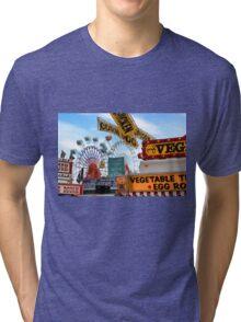 Ferris Wheels & Fried Dough - Fryeburg Fair Tri-blend T-Shirt