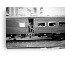 Commuter train, Colombo Sri Lanka Canvas Print