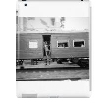 Commuter train, Colombo Sri Lanka iPad Case/Skin