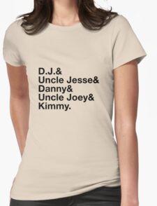 Full House Ampersand Design Womens Fitted T-Shirt