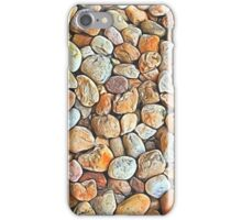 Abstract Shapes Mostly Neutral with Splashes of Color iPhone Case/Skin