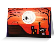 Pendle (Orange) Greeting Card