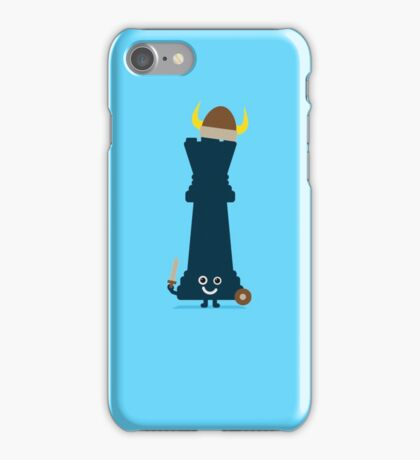 Character Building - Chess piece iPhone Case/Skin