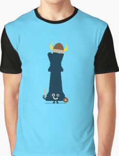 Character Building - Chess piece Graphic T-Shirt