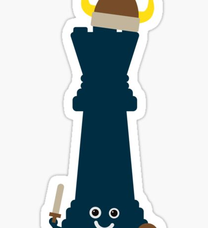 Character Building - Chess piece Sticker