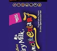 Cadbury Dairy Milk Spectacular 7 Phone Cases by funnygift
