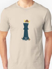 Character Building - Chess piece Unisex T-Shirt