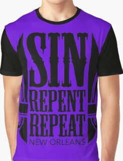 Sin, Repent, Repeat Graphic T-Shirt