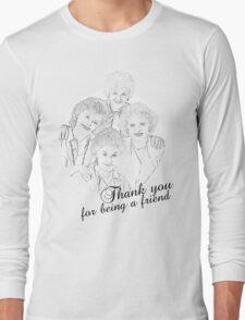 The Golden Girls Long Sleeve T-Shirt