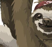 Rebel sloth Sticker