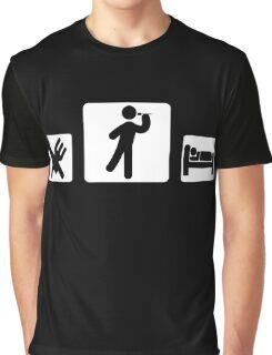 eat sleep dart Graphic T-Shirt