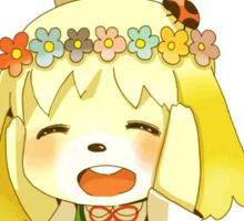 Animal Crossing Isabelle Sticker