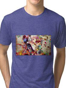 sake girl Tri-blend T-Shirt
