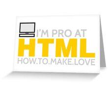 HTML PROGRAMMER Greeting Card