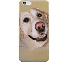 Riley the smiley golden Labrador iPhone Case/Skin
