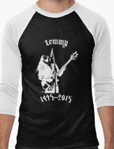 """RIP Ian """"Lemmy"""" Kilmister (Motorhead) Men's Baseball ¾ T-Shirt"""