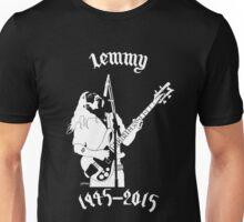 "RIP Ian ""Lemmy"" Kilmister (Motorhead) Unisex T-Shirt"