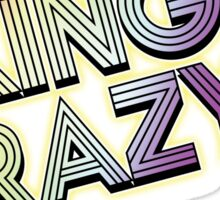 KING CRAZY!!! Persona 4: Dancing All Night Sticker