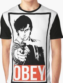 Ryo Saeba - City Hunter Graphic T-Shirt