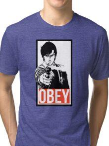 Ryo Saeba - City Hunter Tri-blend T-Shirt