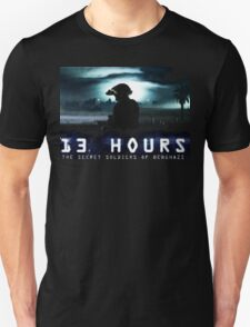 13 hours the secret soldiers of benghazi T-Shirt