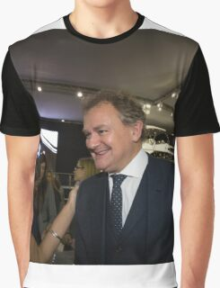 Hugh Bonneville British actor from Downton Abbey  Graphic T-Shirt