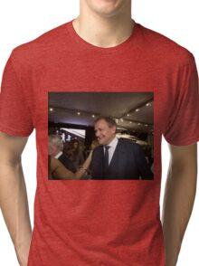 Hugh Bonneville British actor from Downton Abbey  Tri-blend T-Shirt